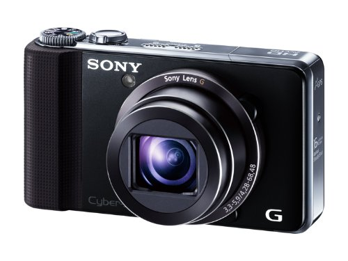 sony digital camera cybershot hx9v 16 2mp cmos x16 optical zoom black dsc hx9v b digital. Black Bedroom Furniture Sets. Home Design Ideas