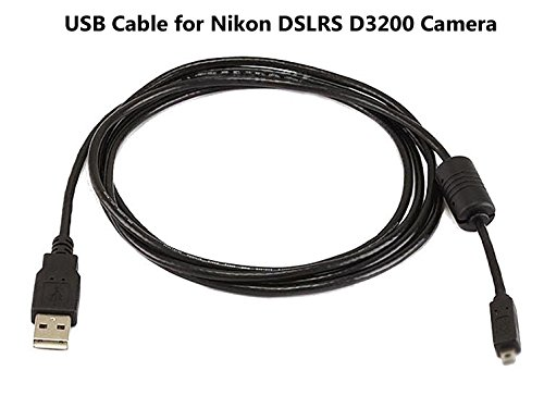 Nikon Camera Usb Cable : Usb cable for nikon dslr d camera and computer